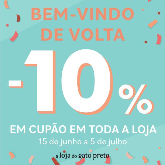 10% em cupão